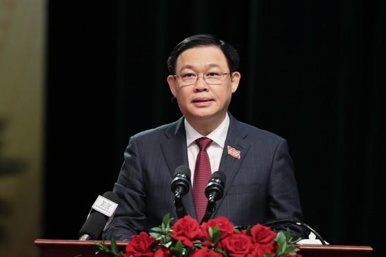 Đồng chí Vương Đình Huệ được giới thiệu để bầu Chủ tịch Quốc hội ảnh 1
