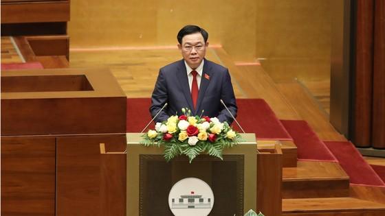 Tân Chủ tịch Quốc hội Vương Đình Huệ tuyên thệ nhậm chức ảnh 3