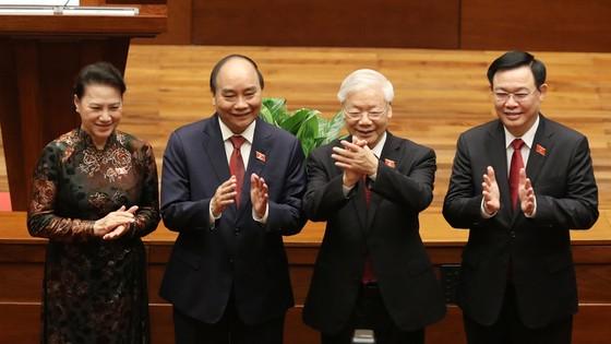 Tân Chủ tịch nước Nguyễn Xuân Phúc tuyên thệ ảnh 6
