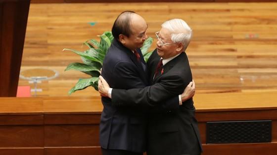 Tân Chủ tịch nước Nguyễn Xuân Phúc tuyên thệ ảnh 7