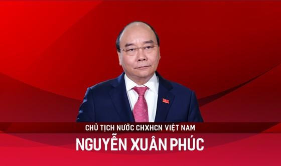Tân Chủ tịch nước Nguyễn Xuân Phúc tuyên thệ ảnh 8