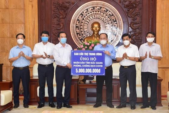 Hỗ trợ Bắc Giang, Bắc Ninh, Vĩnh Phúc chống dịch Covid-19 bùng phát ảnh 1