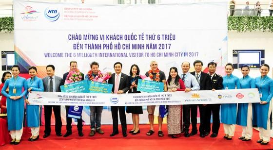 TPHCM đón vị khách quốc tế thứ 6 triệu ảnh 1