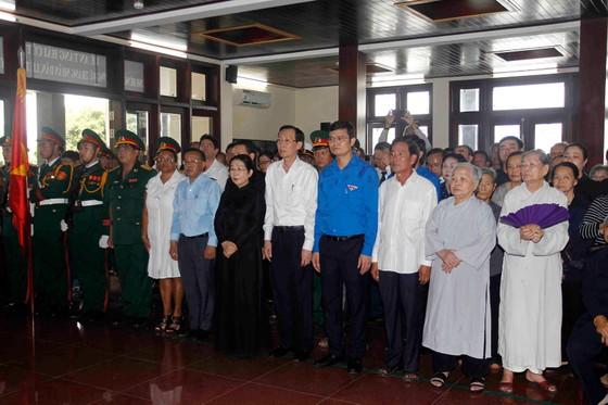 Đưa hài cốt anh hùng Nguyễn Văn Trỗi về Nghĩa trang Liệt sĩ TPHCM ảnh 4