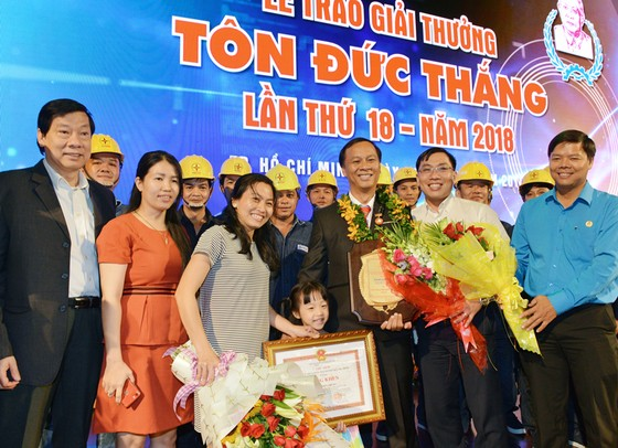 Giải thưởng Tôn Đức Thắng năm 2018: Phẩm chất sáng tạo của kỹ sư, công nhân TPHCM tỏa sáng ảnh 6