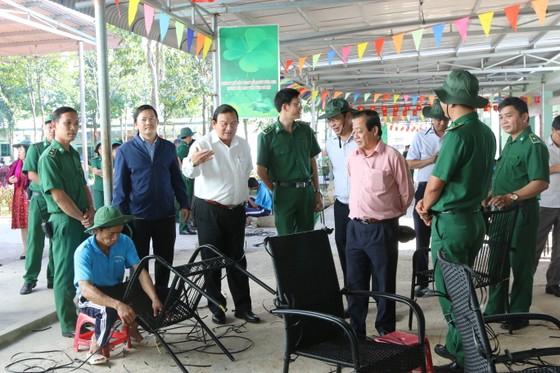 Đoàn đại biểu TPHCM chúc tết các cơ sở cai nghiện ma túy tại Bình Phước, Bình Dương ảnh 3