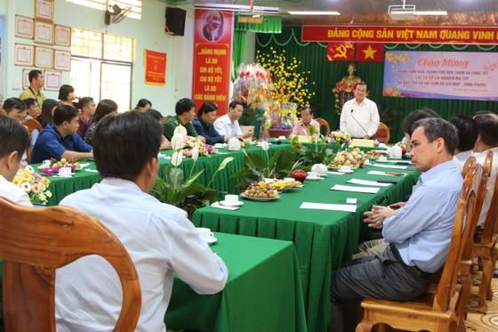 Đoàn đại biểu TPHCM chúc tết các cơ sở cai nghiện ma túy tại Bình Phước, Bình Dương ảnh 1