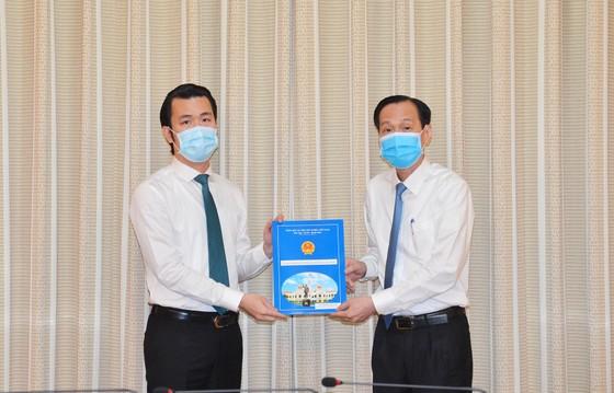 Chủ tịch UBND quận 10 Trần Xuân Điền nhận công tác tại Thành ủy TPHCM ảnh 1