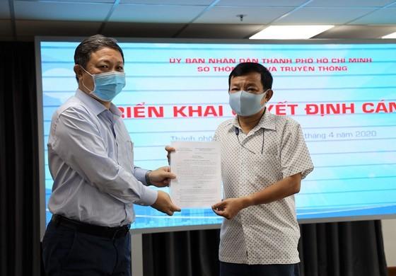 Ông Nguyễn Văn Khanh làm Phó Giám đốc Trung tâm Báo chí TPHCM ảnh 1