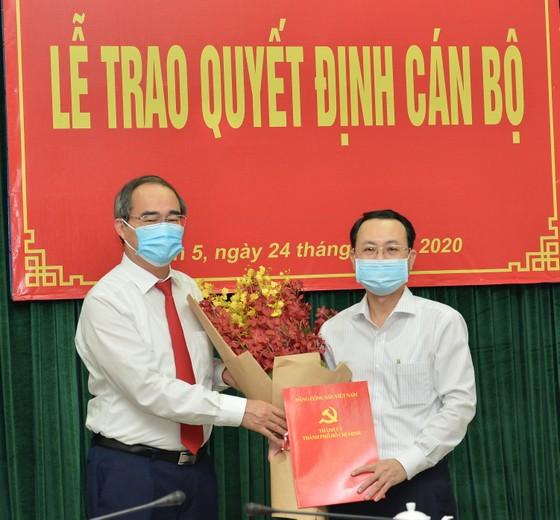 Đồng chí Nguyễn Văn Hiếu giữ chức vụ Bí thư Quận ủy quận 5 ảnh 1