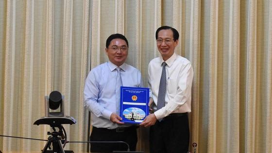 Chủ tịch UBND quận 8 Trần Quang Thảo nhận nhiệm vụ mới ảnh 3