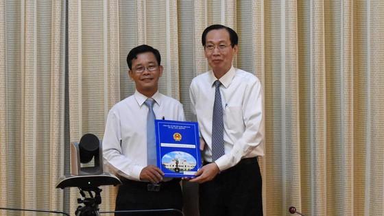 Chủ tịch UBND quận 8 Trần Quang Thảo nhận nhiệm vụ mới ảnh 1