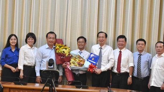 Chủ tịch UBND quận 8 Trần Quang Thảo nhận nhiệm vụ mới ảnh 2