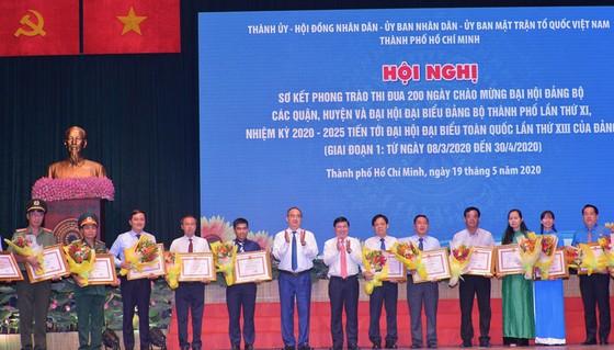Bí thư Thành ủy TPHCM Nguyễn Thiện Nhân yêu cầu rà soát các nơi thi đua theo kiểu đối phó ảnh 2