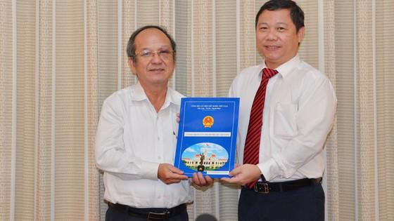 Ông Trần Thanh Tùng giữ chức vụ Chủ tịch UBND quận 8 ảnh 1