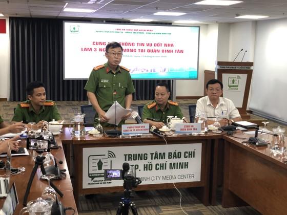 Khởi tố vụ án phóng hỏa khiến 3 người tử vong tại quận Bình Tân, đối tượng Phan Văn Quang thừa nhận hành vi phạm tội ảnh 1