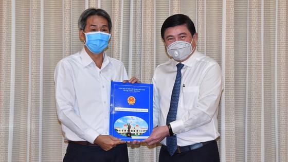 Đồng chí Bùi Tá Hoàng Vũ giữ chức Giám đốc Sở Công thương TPHCM ảnh 3