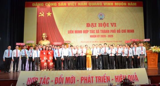 Đồng chí Trần Ngọc Hưng tái đắc cử Chủ tịch Liên minh Hợp tác xã TPHCM ảnh 2