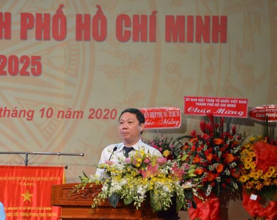 Đồng chí Trần Ngọc Hưng tái đắc cử Chủ tịch Liên minh Hợp tác xã TPHCM ảnh 1