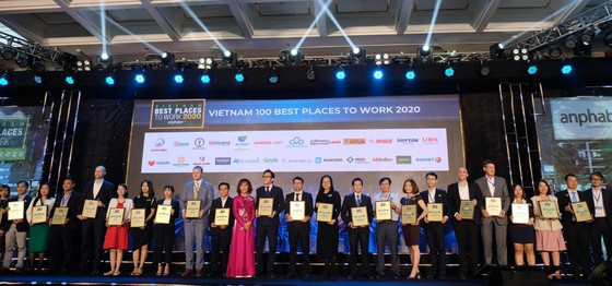 TOP 100 nơi làm việc tại Việt Nam hấp dẫn nhất với người lao động ảnh 1