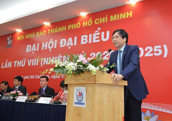 Nhà báo Trần Trọng Dũng tái đắc cử Chủ tịch Hội Nhà báo TPHCM ảnh 5