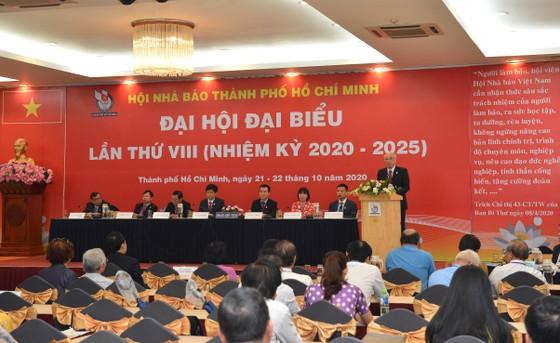 Nhà báo Trần Trọng Dũng tái đắc cử Chủ tịch Hội Nhà báo TPHCM ảnh 4