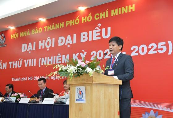 Nhà báo Trần Trọng Dũng tái đắc cử Chủ tịch Hội Nhà báo TPHCM ảnh 3