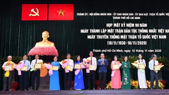 MTTQ Việt Nam TPHCM cần kết nối người giỏi, người tài muốn đóng góp phát triển TPHCM ảnh 3