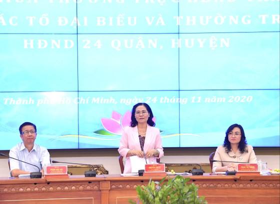 Kỳ họp thứ 23 HĐND TPHCM dự kiến diễn ra từ ngày 7 đến ngày 9-12-2020 ảnh 2