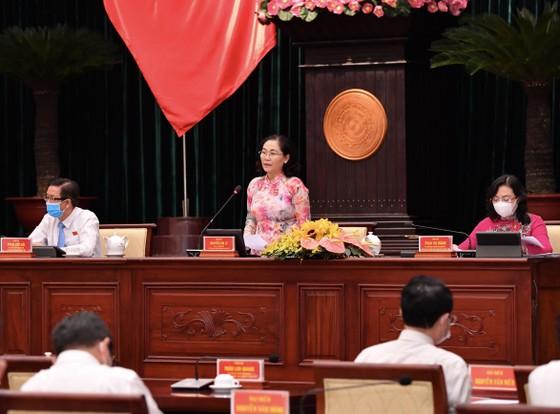 Chủ tịch UBND TPHCM Nguyễn Thành Phong đăng đàn trả lời chất vấn ảnh 6