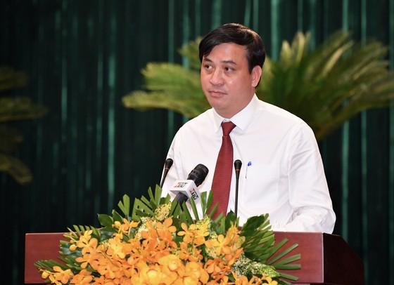 Đồng chí Phan Thị Thắng và đồng chí Lê Hòa Bình được bầu giữ chức Phó Chủ tịch UBND TPHCM  ảnh 4