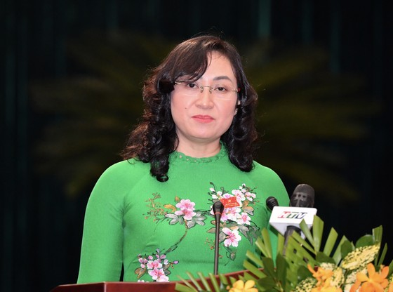 Đồng chí Phan Thị Thắng và đồng chí Lê Hòa Bình được bầu giữ chức Phó Chủ tịch UBND TPHCM  ảnh 3