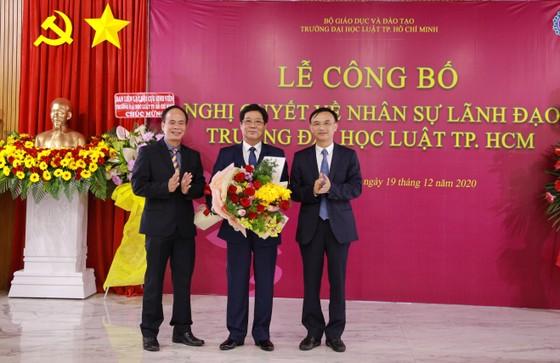 PGS.TS Trần Hoàng Hải làm Quyền Hiệu trưởng Trường Đại học Luật TPHCM  ảnh 1