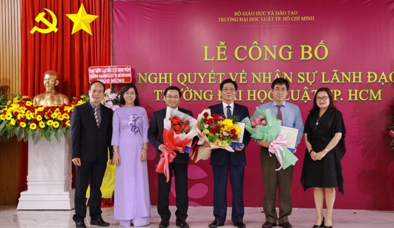 PGS.TS Trần Hoàng Hải làm Quyền Hiệu trưởng Trường Đại học Luật TPHCM  ảnh 2