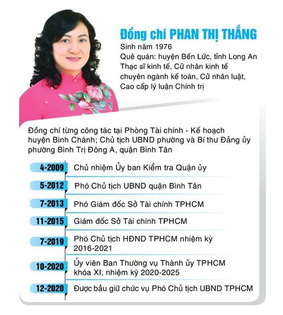 Đồng chí Phan Thị Thắng và Lê Hòa Bình nhận quyết định phê chuẩn chức vụ Phó Chủ tịch UBND TPHCM ảnh 4