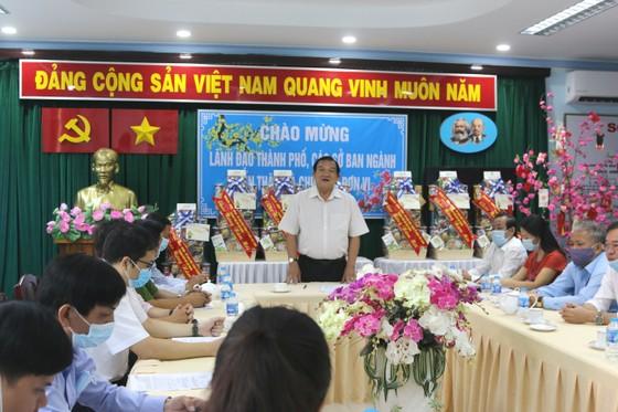 Đoàn lãnh đạo TPHCM thăm, chúc tết các cơ sở xã hội ảnh 1