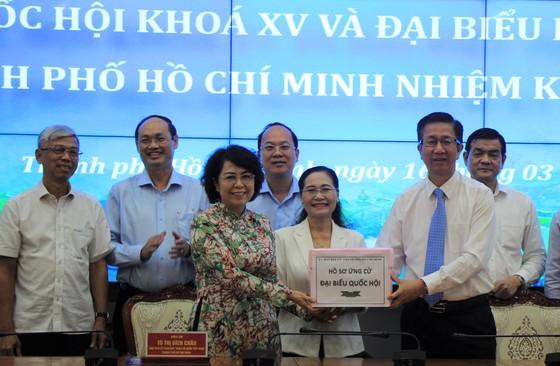 Bàn giao danh sách 224 hồ sơ ứng cử đại biểu Quốc hội, HĐND TPHCM sang Ủy ban MTTQ Việt Nam TPHCM ảnh 1