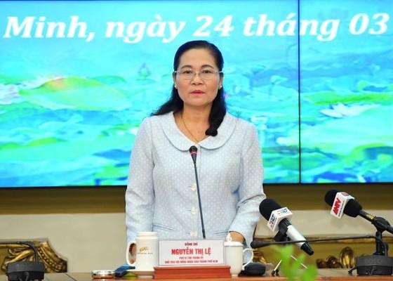 Chủ tịch HĐND TPHCM Nguyễn Thị Lệ: Cần chú ý đến biến động dân số khi lập danh sách cử tri ảnh 1
