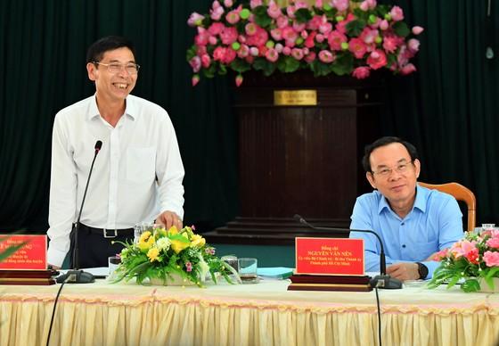 Bí thư Thành ủy TPHCM Nguyễn Văn Nên: Có cơ chế đầu tư tương xứng với tầm vóc và vai trò của Cần Giờ ảnh 1