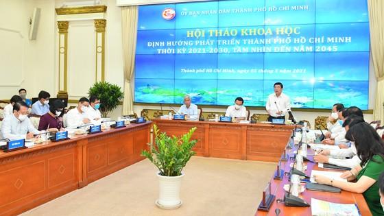 Chủ tịch UBND TPHCM Nguyễn Thành Phong: Hiện thực hóa khát vọng vươn lên của TPHCM, trở thành đại đô thị mang đẳng cấp khu vực ảnh 1