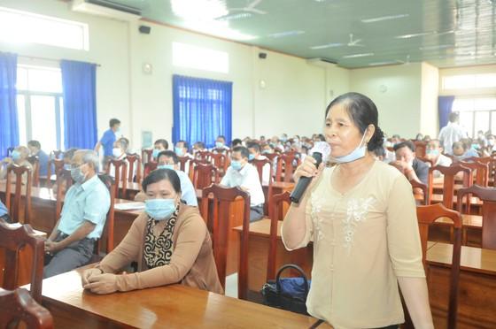 Ứng cử viên Nguyễn Thị Lệ nêu nhiều giải pháp nâng cao chất lượng đời sống người dân ảnh 2