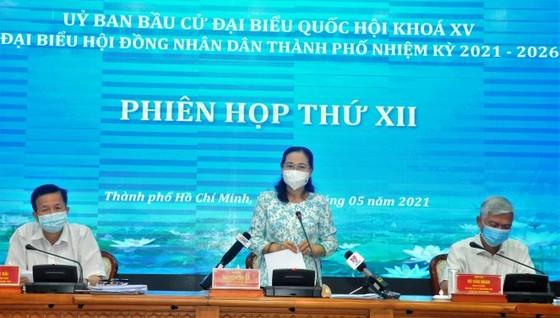Chủ tịch HĐND TPHCM Nguyễn Thị Lệ: Có phương án bỏ phiếu phù hợp trong bối cảnh phòng chống dịch Covid-19 ảnh 1