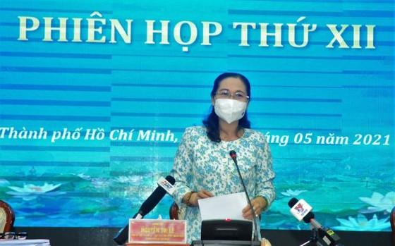 Chủ tịch HĐND TPHCM Nguyễn Thị Lệ: Có phương án bỏ phiếu phù hợp trong bối cảnh phòng chống dịch Covid-19 ảnh 2