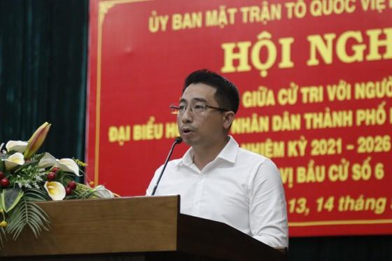 Ứng cử viên HĐND TPHCM cam kết 'nói ít, làm nhiều' ảnh 3