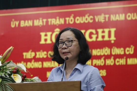 Ứng cử viên HĐND TPHCM cam kết 'nói ít, làm nhiều' ảnh 5