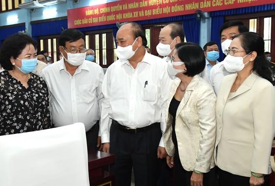 Chủ tịch nước Nguyễn Xuân Phúc cùng lãnh đạo TPHCM sẽ kêu gọi các tập đoàn lớn đầu tư vào huyện Củ Chi, huyện Hóc Môn ảnh 2
