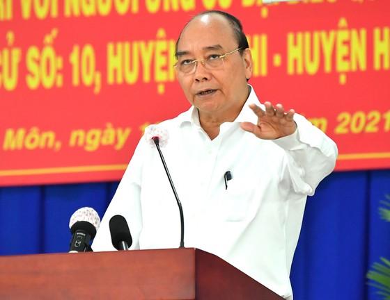 Chủ tịch nước Nguyễn Xuân Phúc: đưa huyện Hóc Môn, Củ Chi trở thành thành phố phía Tây, cực tăng trưởng mới của TPHCM ảnh 1