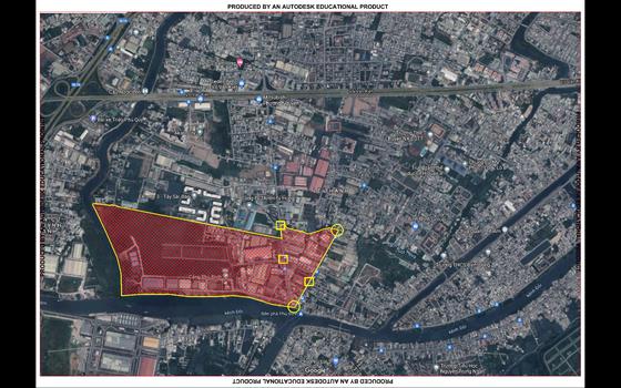 UBND quận 8 đề xuất giãn cách xã hội theo Chỉ thị 16 đối với khu phố 2, phường 16 ảnh 1