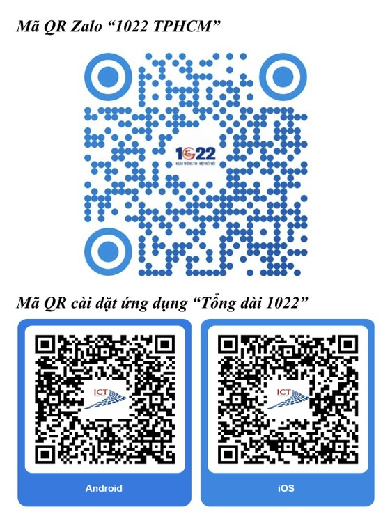 Người dân TPHCM có thể nhắn tin trên Zalo đến 1022 nếu gặp khó khăn cần hỗ trợ  ảnh 1