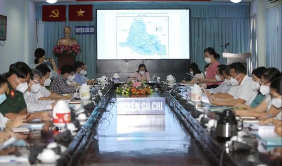 Thủ tướng Phạm Minh Chính chúc mừng huyện Củ Chi đã kiểm soát được dịch Covid-19 ảnh 2